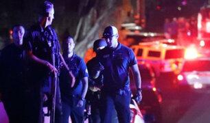 EEUU: sujeto apuñaló a cuatro personas en nuevo crimen de odio