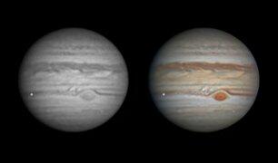 Meteorito explota contra la atmósfera de Júpiter
