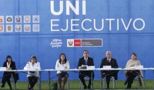 """Vizcarra en el UNI Ejecutivo: """"El diálogo es el mejor camino para el entendimiento"""""""