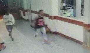 Tarapoto: asaltan a joven con arma artesanal