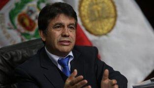 Fiscal anticorrupción pide a JNJ separar a Tomás Gálvez por abuso de poder