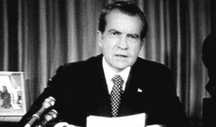 EEUU: se cumplen 45 años de la renuncia de Richard Nixon