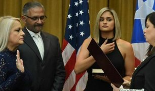 Puerto Rico: Wanda Vásquez juramenta como nueva gobernadora