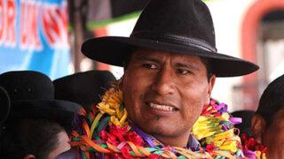 Dictan prisión preventiva contra gobernador Walter Aduviri por caso 'Aymarazo'