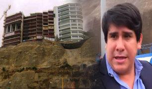 Derrumbe en Costa Verde: Alcalde de Magdalena podría declarar inhabitables viviendas