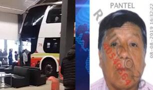 Accidente en Terminal Plaza Norte: conductor dio negativo en dosaje etílico