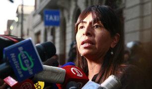 """Giulliana Loza: """"Esperábamos que hoy se ordene la libertad de Keiko Fujimori"""""""