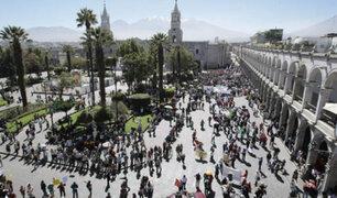 Tía María: arequipeños piden que las protestas sean pacíficas