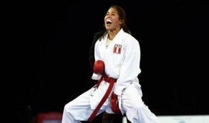 Lima 2019: peruana Alexandra Grande candidata a medalla de oro en Karate