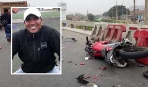 Puente Piedra: motociclista muere arrollado por volquete en Panamericana Norte