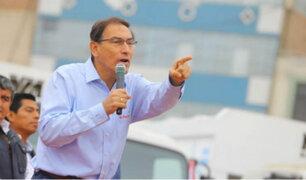 Presidente Vizcarra: Arequipeños saben quién quiere diálogo y quién caos