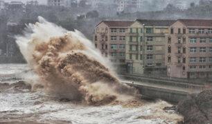 China: inminente llegada de tifón Lekima mantiene a la población en alerta