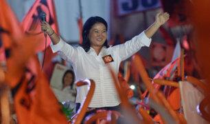 """Keiko asegura que no participará en elecciones congresales: """"Mi prioridad es mi familia"""""""