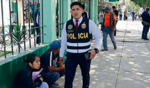 Absuelven a policía procesado por disparar a delincuente en Chiclayo