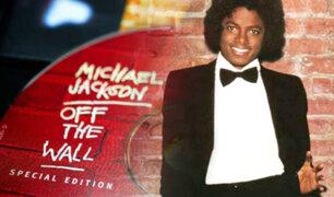 """Michael Jackson: se cumplen 40 años del lanzamiento de """"Off the Wall"""""""