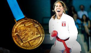 Lima 2019: Alexandra Grande ganó la presea dorada para el Perú en Karate