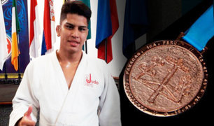 Lima 2019: Yuta Galarreta ganó la medalla de bronce en judo
