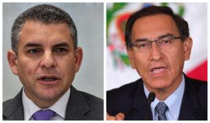 """Vela: Vizcarra fue """"imprudente"""" al comentar sobre dinero que Odebrecht reclama por Chaglla"""