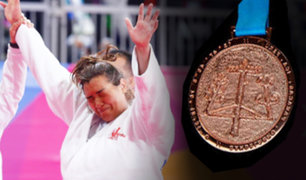 Lima 2019: Yuliana Bolivar gana medalla de bronce en judo para Perú