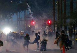 Hong Kong: continúan protestas prodemocracia por décima semana consecutiva
