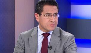 EXCLUSIVO | Amado Enco sobre caso Chaglla: negociación de la reparación civil sería perjudicial para el Estado
