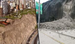 Costa Verde: acantilado amenaza con desmoronarse afectando edificaciones mal ubicadas