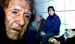 La noche más fría en 50 años: ancianos enfrentan duro temporal en las calles