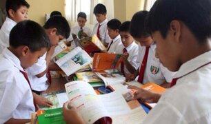 Minedu: producción de textos escolares para el 2020 ya está en curso