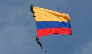 Colombia: militares fallecen al caer desde helicóptero
