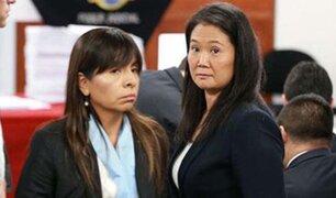 """Abogada de Keiko: """"Nuevo juez podría pronunciarse en contra de prisión preventiva"""""""