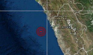 Sismo de magnitud 5.2 se registró esta mañana en Áncash