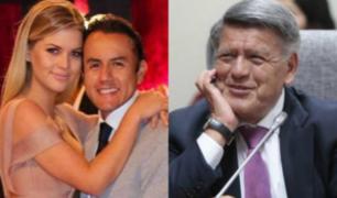 Así celebró Brunella Horna el cumpleaños de César Acuña