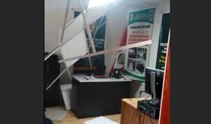 Áncash: se reportan daños en colegios y comisarías tras sismo de 5.2