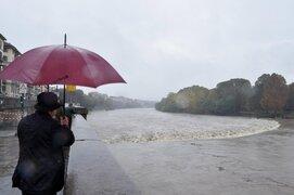 Fuertes tormentas azotan la región norte de Italia