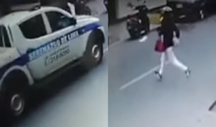 Cercado: serenazgo pasó delante de local que era asaltado pero no hizo nada
