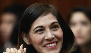 Milagros Salazar es elegida nueva portavoz de Fuerza Popular
