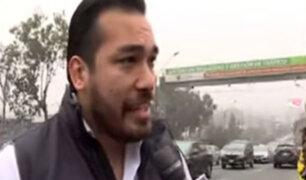 Alcalde de La Molina afirma que 'Pico y placa' genera caos en su distrito
