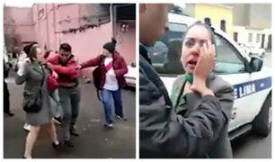 Cercado: sujeto rompe nariz a expareja porque ella terminó la relación