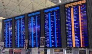 Japón: cientos de vuelos fueron cancelados por tormenta tropical Krosa