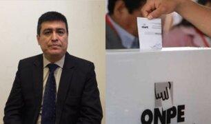 Ibo Urbiola: Las circunstancias de ingobernabilidad obligan a adelanto de elecciones