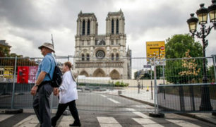 Advierten que catedral de Notre Dame aún corre riesgo de colapsar