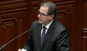 Tía María: duras críticas a ministros Ísmodes y Oliva en el Pleno del Congreso