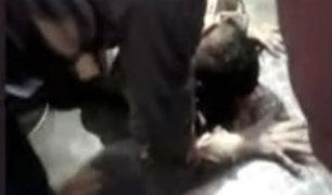 Barranco: pasajeros de bus golpean a sujeto que atacó vehículo a pedradas