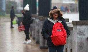 Senamhi: bajas temperaturas se prolongarían hasta fines de setiembre