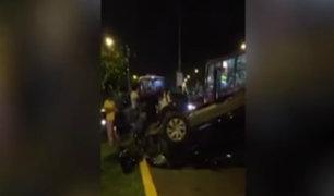 Tres mil personas mueren al año en accidentes de tránsito, según cifras del MTC