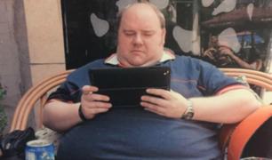 Hombre con obesidad adelgazó gracias a la Gran Muralla China
