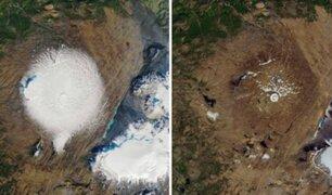 VIDEO | Así fue la degradación del primer glaciar declarado muerto