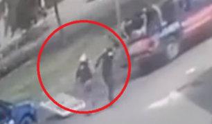 Los Olivos: hombre impactado por auto durante operativo lamentó violento accionar de fiscalizadores