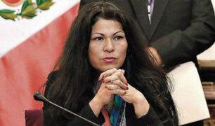Congreso aprueba suspender a Yesenia Ponce por 60 días