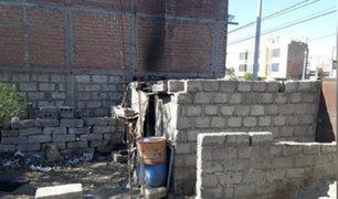 Arequipa: anciano fallece durante incendio en su vivienda